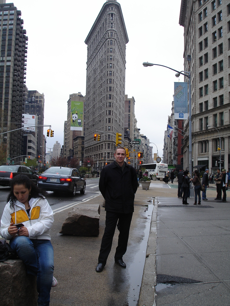 Нью-Йорк. Пятая Авеню.
