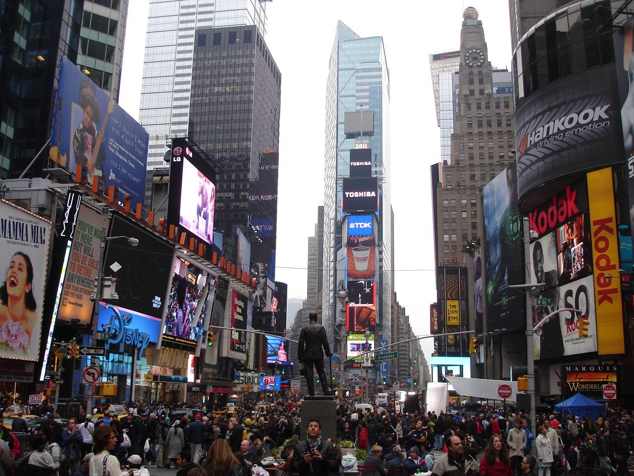 Нью-Йорк. Таймс-сквер.