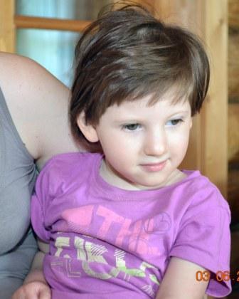 Особый ребенок Аня Карлова