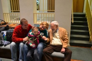 С Гленном Доманом (США, ноябрь 2012 года)