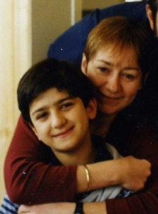Елизавета Заварзина-Мэмми и ее сын Петр