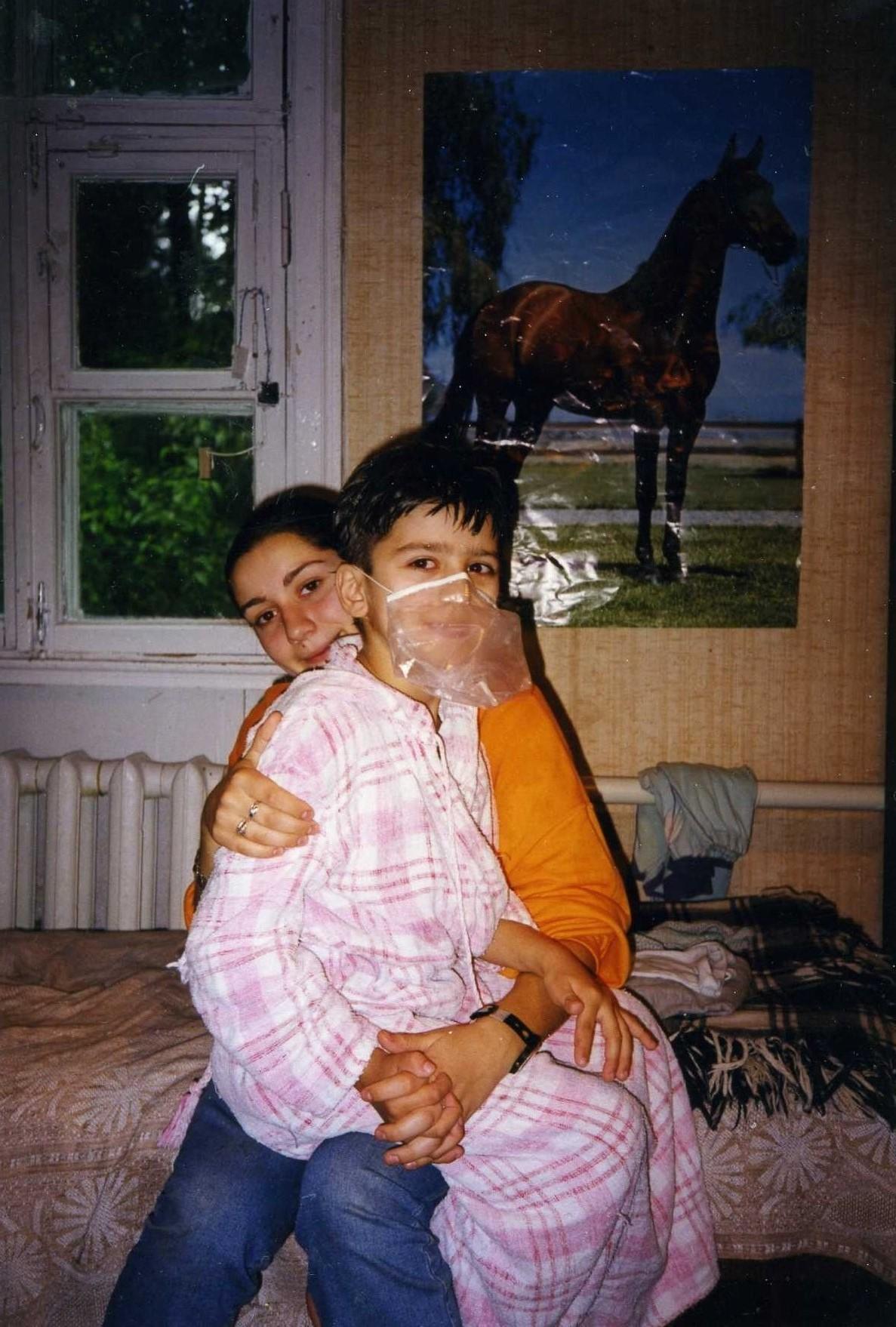 Петр - сын Екатерины Заварзиной-Мэммии. Метод Гленна Домана. Маски.