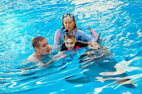 Лера с дельфином 4