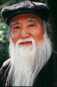Пожилой китаец